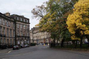 New Town d'Edimbourg, le quartier chic et rangé