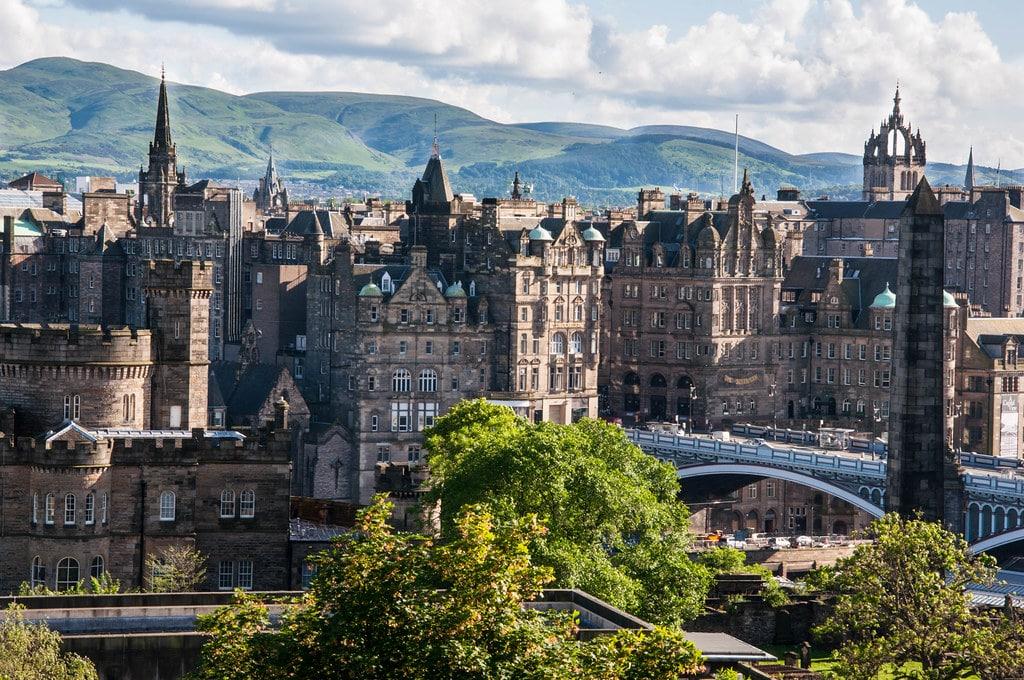 Old Town d'Edimbourg, coeur historique de la capitale écossaise