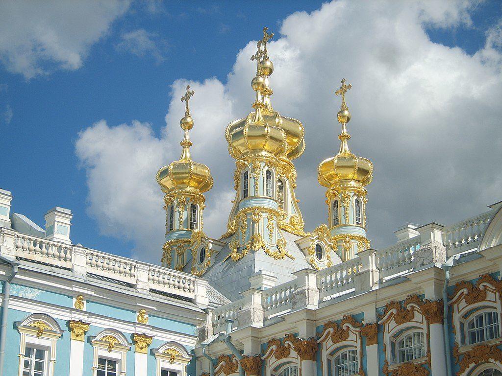 Eglise de la resurrection au Palais Catherine près de St Petersbourg. Photo d'Alex Fedorov.