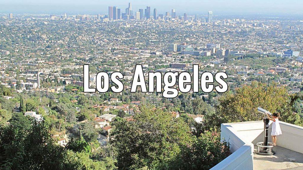 Visiter Los Angeles aux Etats-Unis pendant 2 ou 3 jours, ici la vue depuis l'observatoire du Griffith Park. Photo de Downtowngal