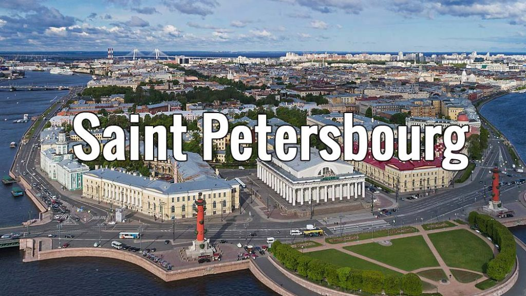 Visiter Saint Petersbourg en Russie pendant un week-end ou plus. Photo de A. Savin