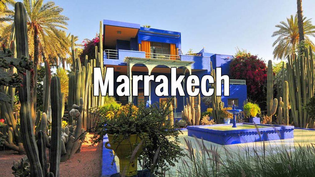 Visiter Marrakech au Maroc pendant un week-end ou plus - Photo de Viault