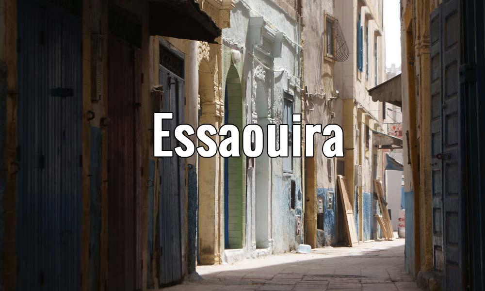 Visiter Essaouira au Maroc, tranquille port de pêche.