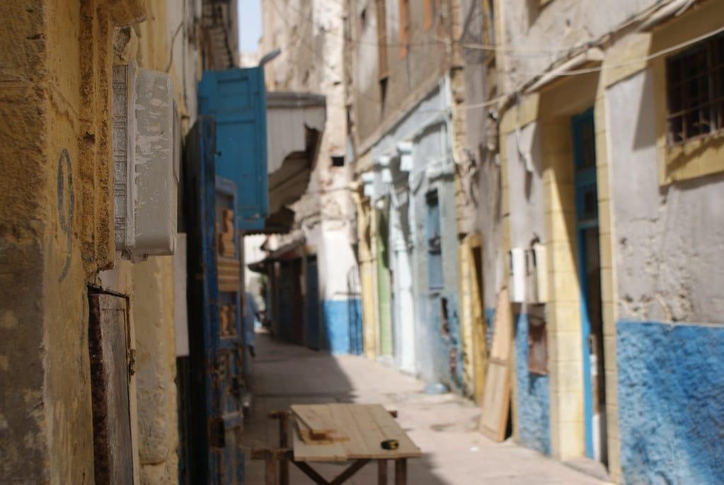 > On se croirait presque en Normandie à Essaouira sauf que non... rien à voir. Bon les couleurs un peu.