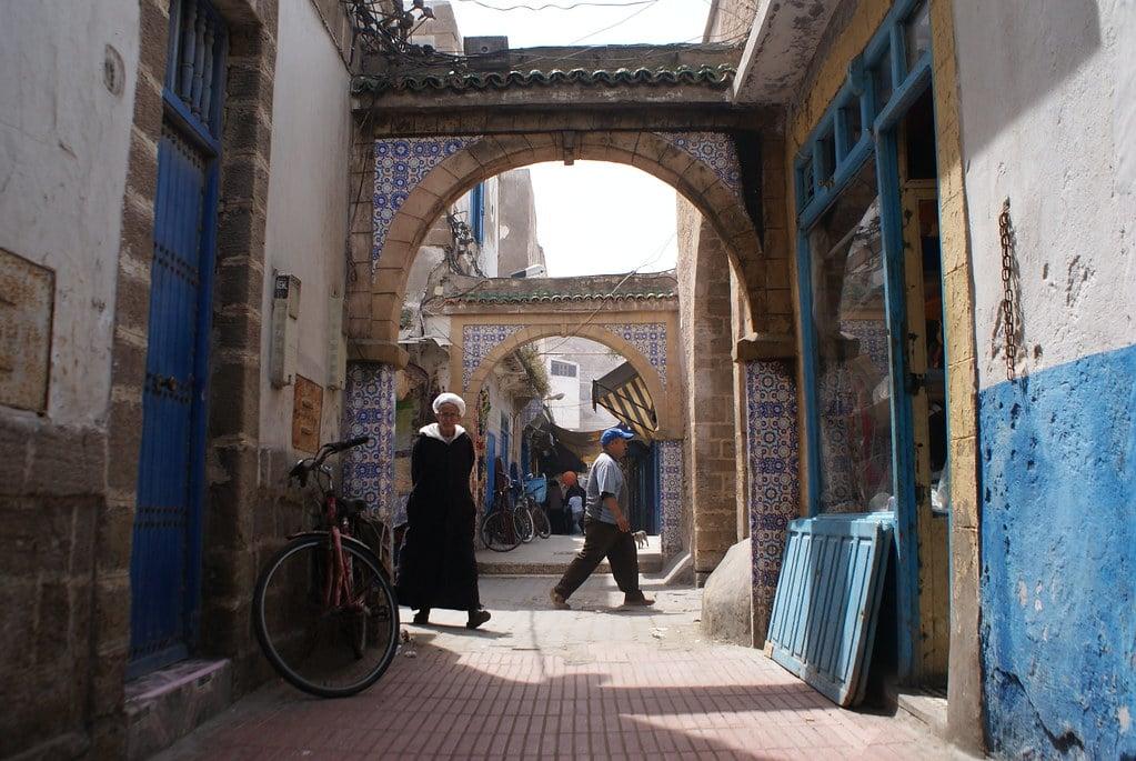 > La médina d'Essaouira est une petite ville très agréable à parcourir à pied.