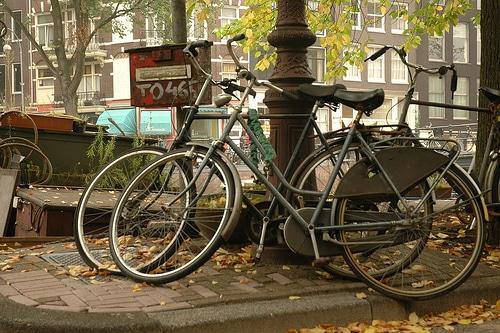 Photos de vélos à Amsterdam