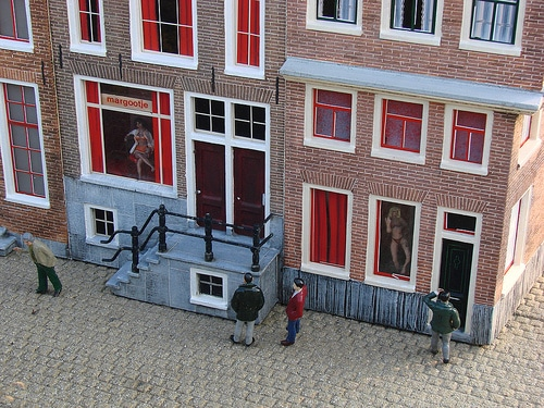 Photos du quartier rouge d'Amsterdam