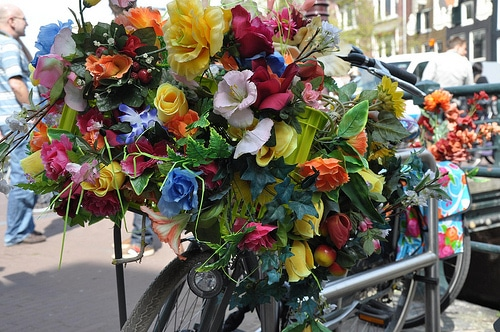 Vélo fleuri par Michiel020@Flickr