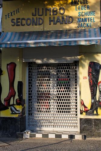 Jumbo Second Hand, friperie de chaussures à Berlin [Kreuzberg]