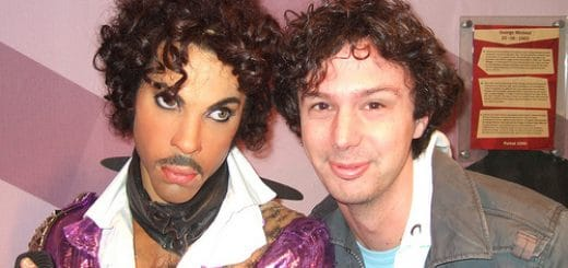 Musée Tussaus à Amsterdam : Prince et Matt - Photo de Ben Sutherland