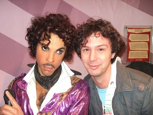 Musée Tussauds à Amsterdam : Prince et Matt - Photo de Ben Sutherland
