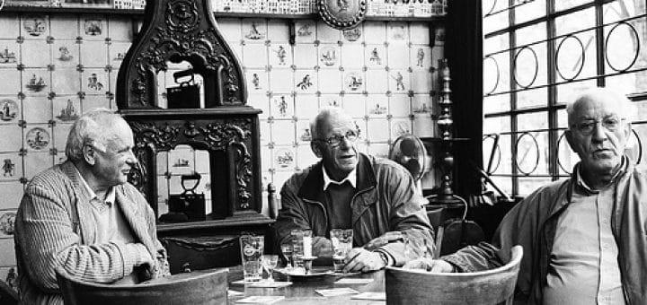 Het Papeneiland, Café brun à Amsterdam. Photo de Vandicla@Flickr