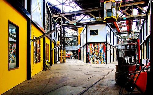 Art Factory, ou la friche artistique NDSM-Kinetisch Noord d'Amsterdam - Photo de Akbar Simonse@Flickr