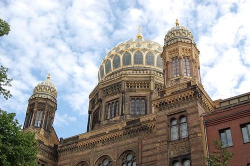 Nouvelle synagogue de Berlin - Photo de doppio macchiato@Flickr