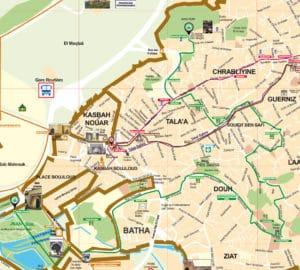 Circuit «Palais et jardin Andalou»à Fès