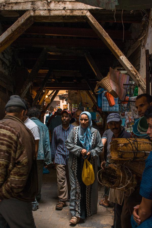 Dans la médina ou vieille ville de Fès - Photo d'Alex Azabache