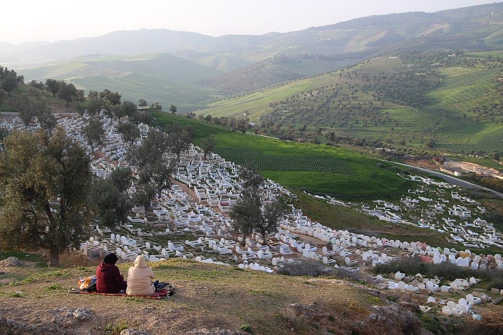 Cimetiere Bab Guissa au nord de Fès - Photo de Gonzalo Riestra