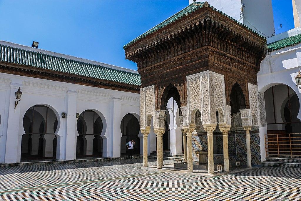Mosquée de l'Université Al Qarawiyyin dans la Médina de Fès - Photo d'Ahmed Magdy