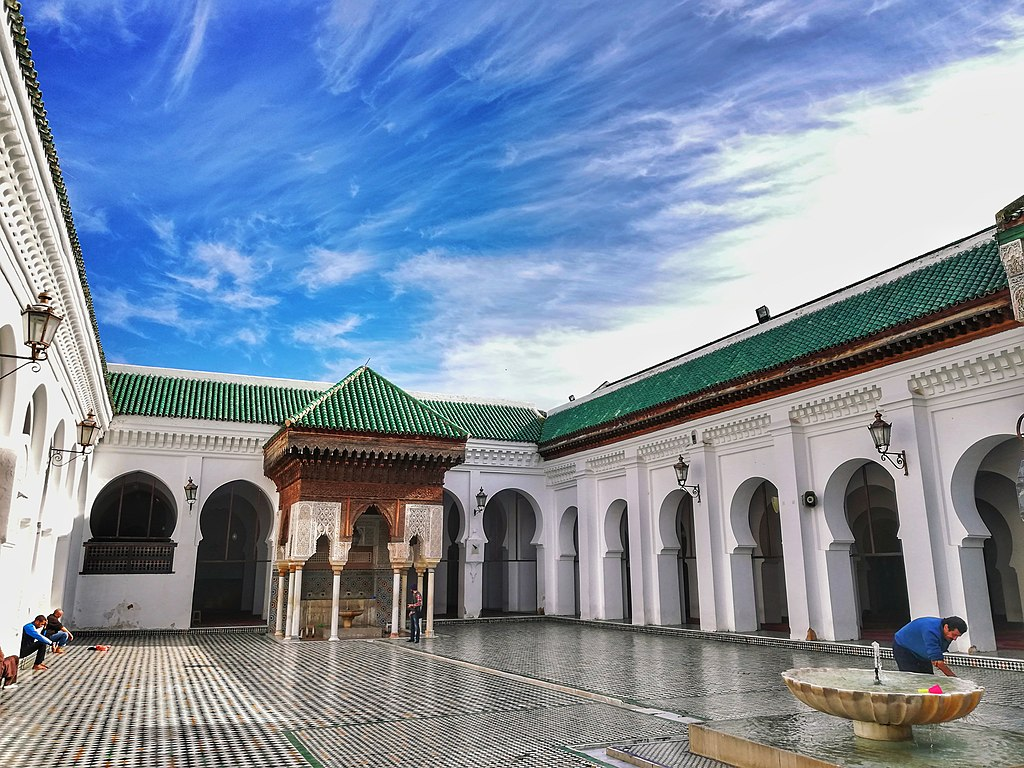 Quand venir à Fès au Maroc ? Climat et météo à 7 jours. Photo de l'université Karawiyine - Photo de Momed Salhi