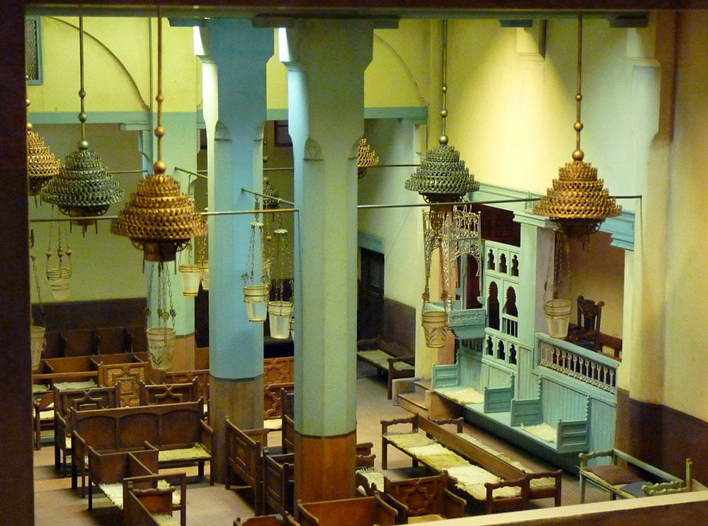 Modèle réduite de la synagogue Danan à Fès - Photo de Ricardo Tulio Gandelman