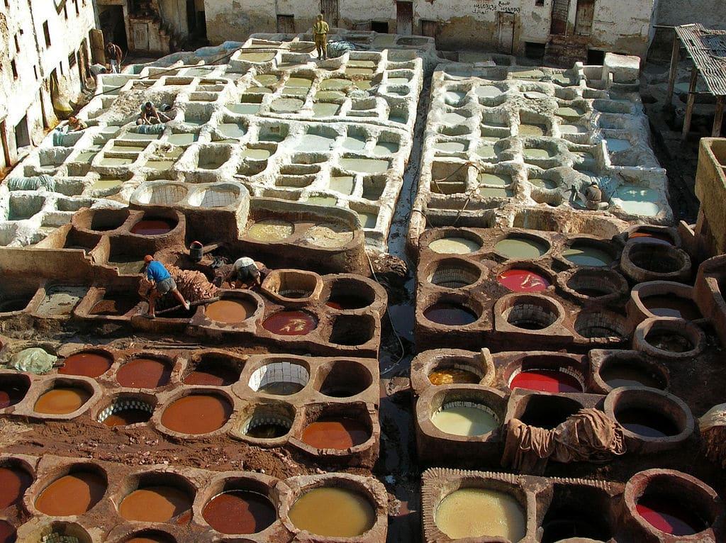 Tanneries de Fès : Carte postale ou pas