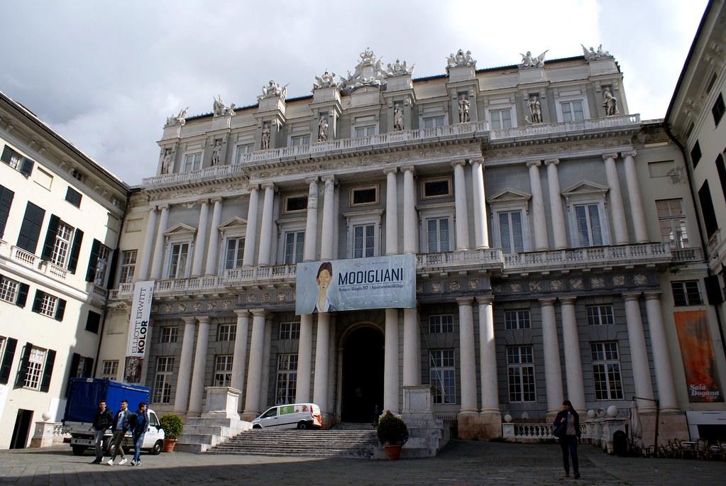 Palazzo Ducale dans le centre historique de Gênes