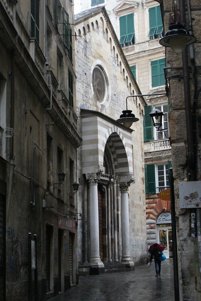 Eglise San Donato à Gênes.