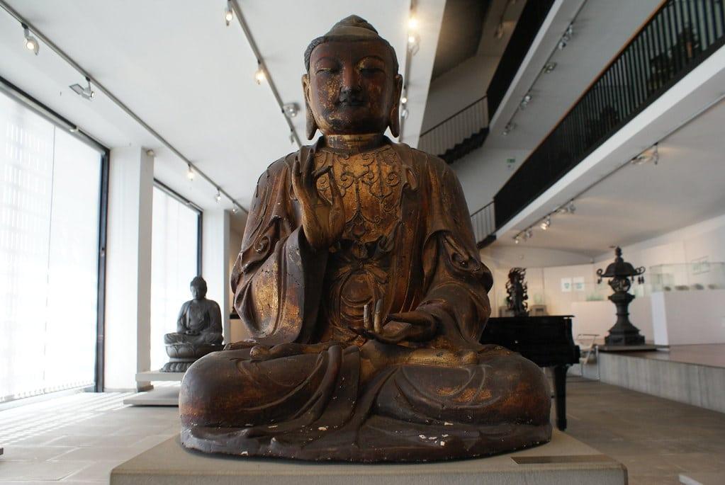 Insolite : La collection de Bouddha est l'une des plus belles du musée d'art asiatique Chiossone de Gênes.