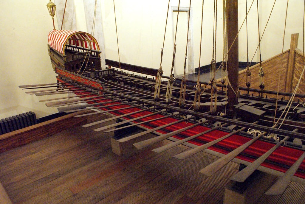 Musée de la Commenda du quartier de Pré à Gênes.