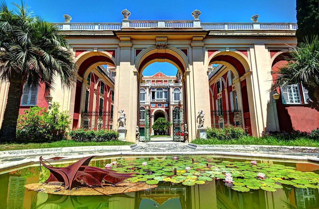 Palazzo Reale dans le quartier de Pré à Gênes - Photo de Frédéric