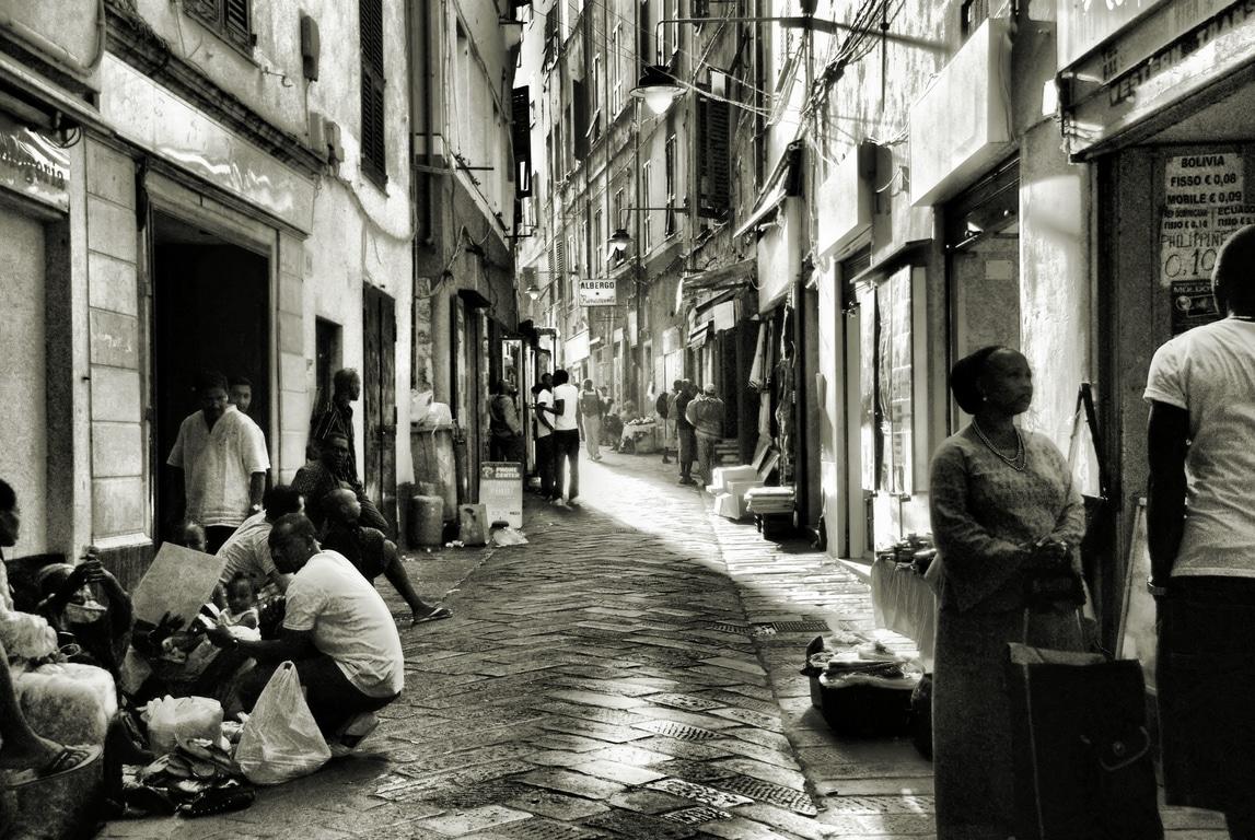 Quartier de Prè à Gênes : Populaire et multiethnique