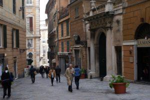 Quartier de San Vincenzo à Gènes : Le centre ville moderne