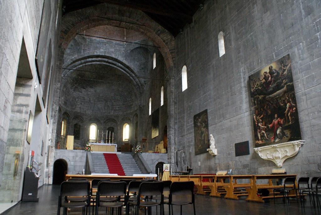 Eglise de Santo Stefano dans le quartier de San Vincenzo à Gênes.
