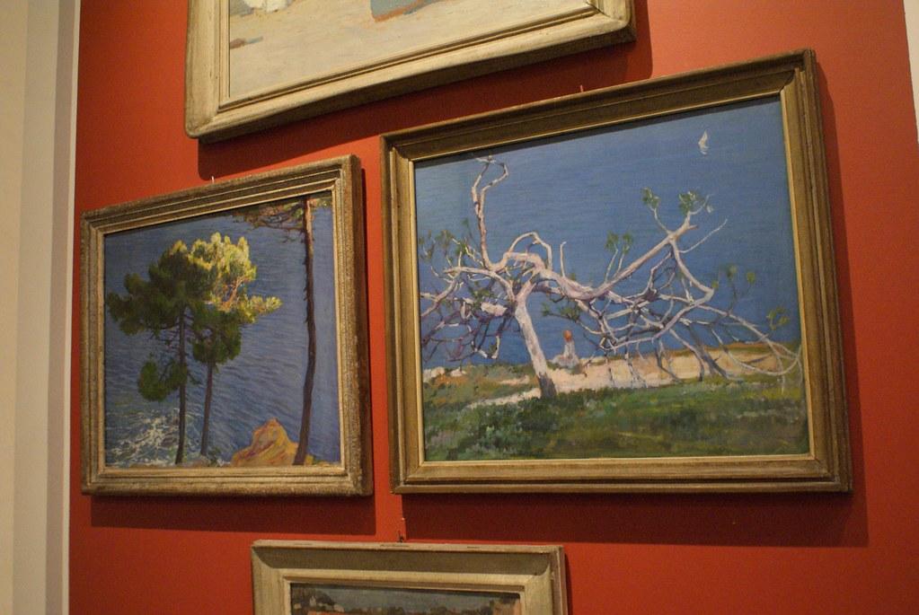 Musée de l'Académie des Beaux Arts ligure dans le quartier de San Vincenzo à Gênes.