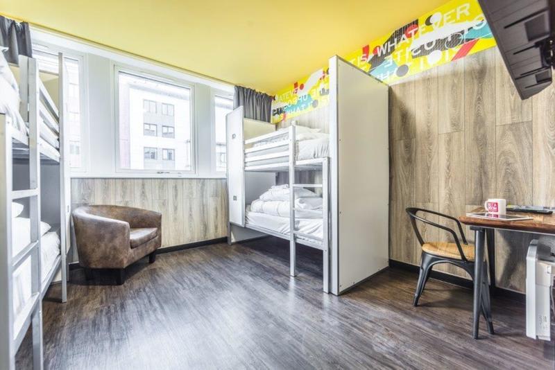Euro Hostel, auberge de jeunesse à Glasgow.