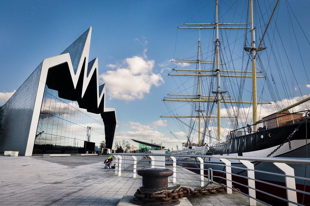 Riverside Museum dans le quartier de Finnieston à Glasgow - Photo de Neil Williamson