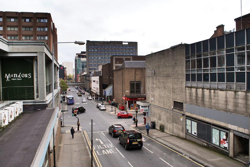 Centre ville de Glasgow, coeur monumental et défiguré