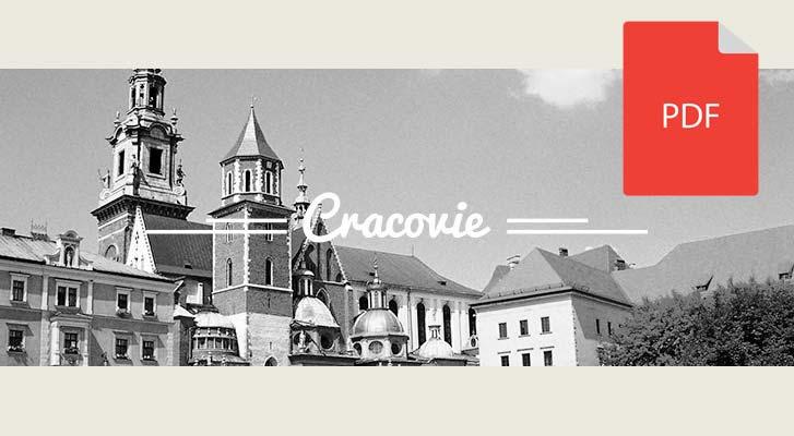 Guide pdf de Cracovie à télécharger