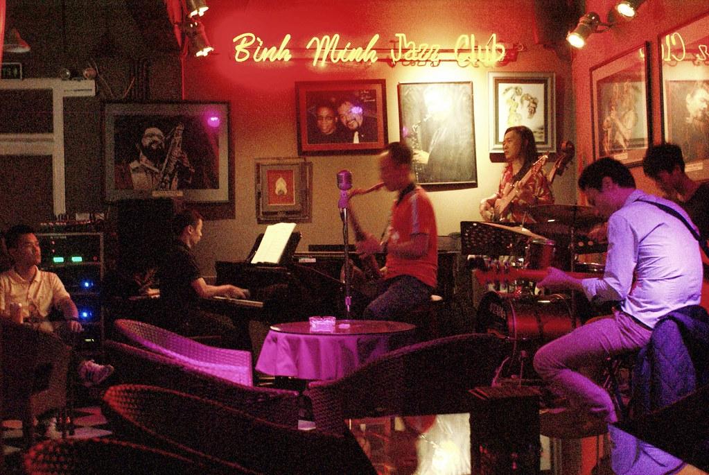 Jazz club Binh Minh à Hanoi.