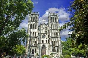 Cathédrale Saint Joseph à Hanoi : Notre Dame du Vietnam [Vieille Ville]
