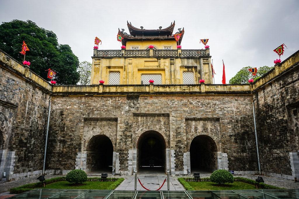 Cité impériale de Thang Long à Hanoi