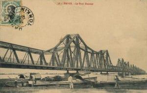 Pont Long Biên à Hanoi : Le monumental pont «Eiffel»