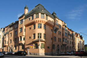 Quartier de Katajanokka à Helsinki