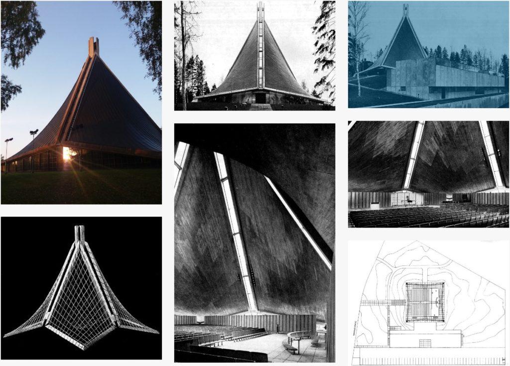 Eglise Kannelmäki à Helsinki : Copie d'écran finnisharchitecture.fi
