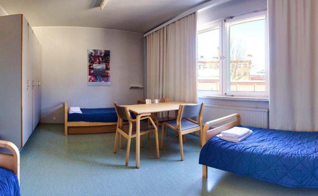 Auberge de jeunesse à Helsinki : Grand et pratique.