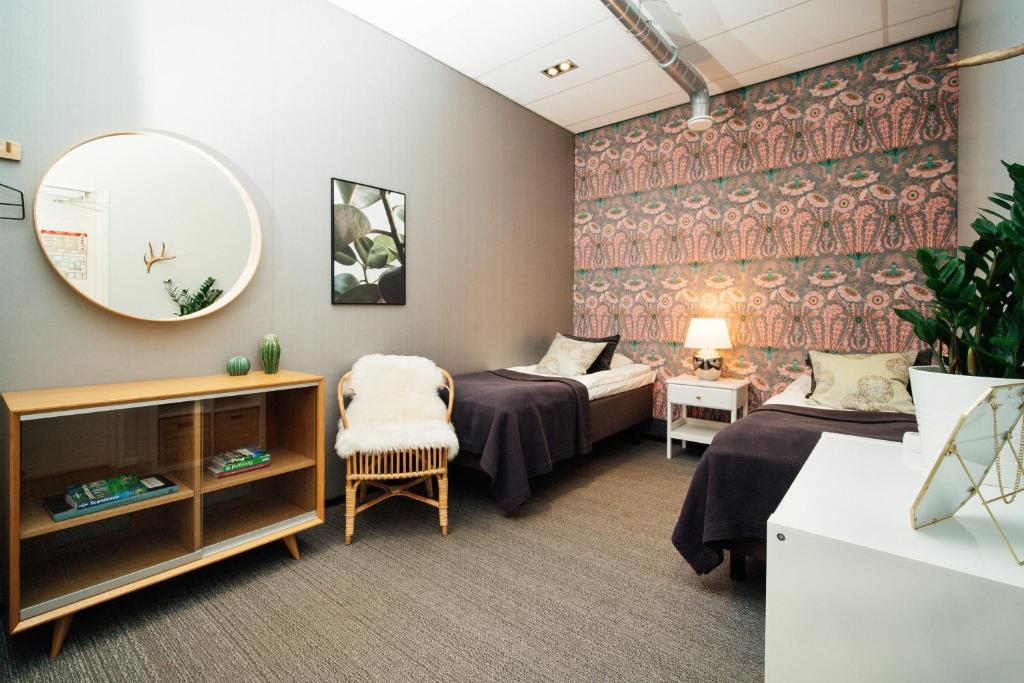 Auberge de jeunesse à Helsinki : Chic et design.