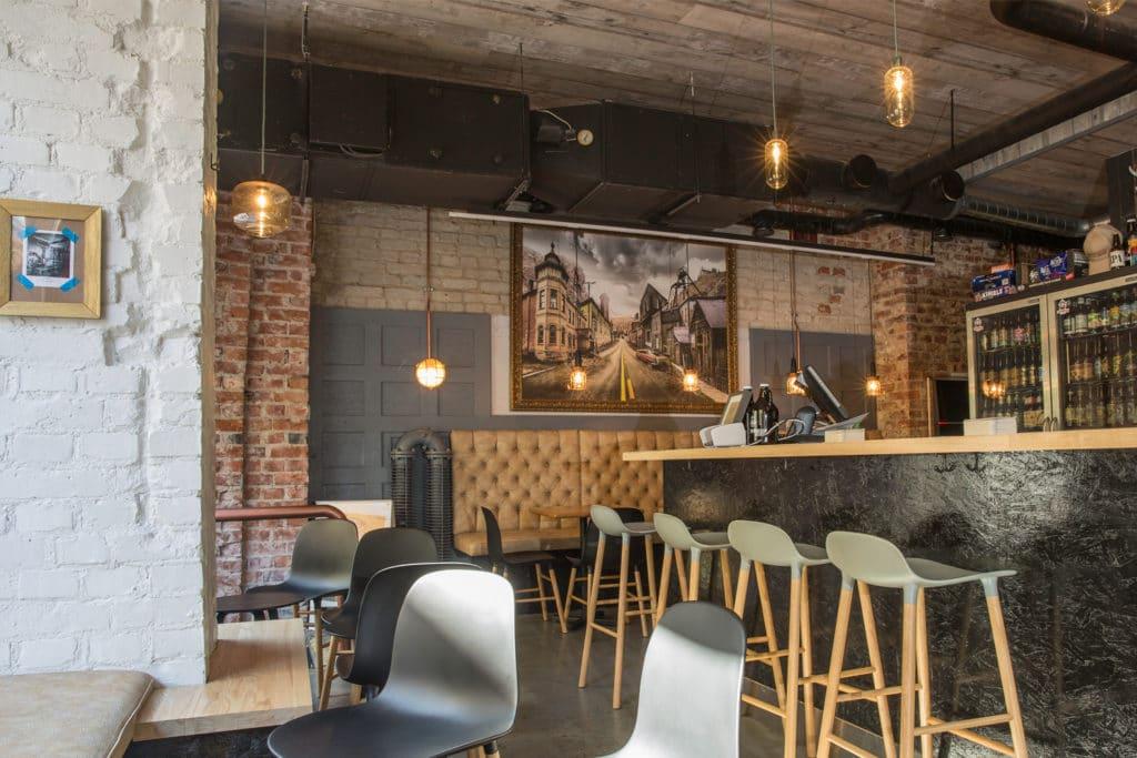 Bar à bière Tommyknocker à Helsinki.