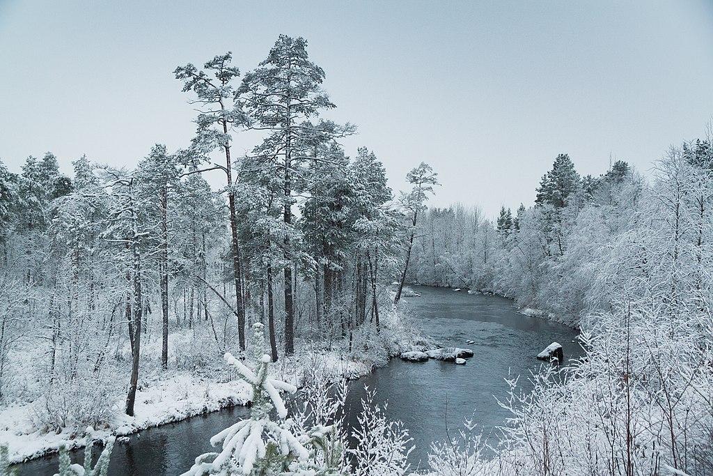 Paysage de Finlande près d'Inari en pays suomi- Photo de Ximonic Simo Räsänen