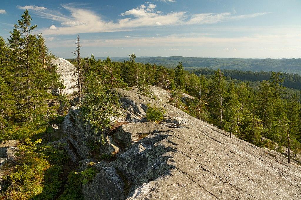 Paysage de Finlande près d'Akka Koli - Photo de Ximonic Simo Räsänen