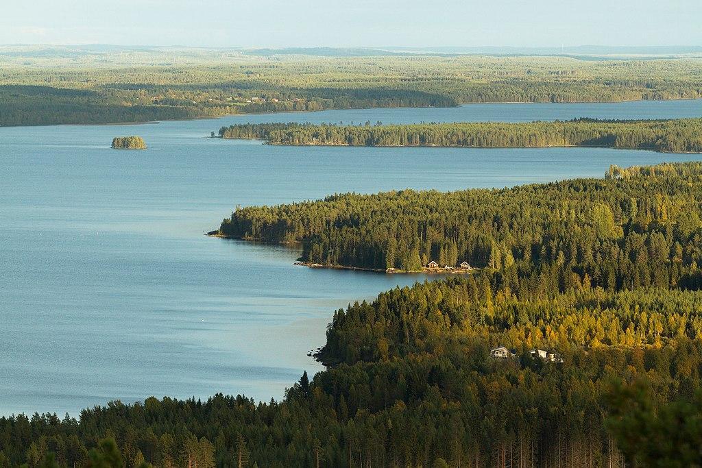 Paysage de Finlande : Vue sur Iso Sapsojärvi - Photo de Ximonic Simo Räsänen